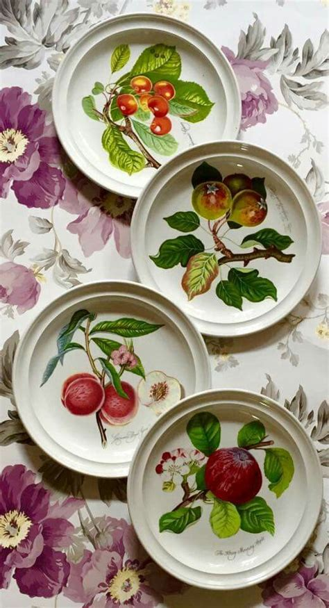 Botanical Gardens Dishes 122 Best Images About Portmeirion Collection On Pinterest Gardens Dinnerware And Botanical