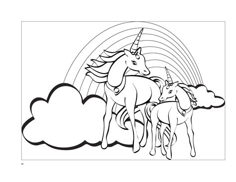 coloring pages of unicorns and pegasus amazing of unicorn coloring pages for kids free