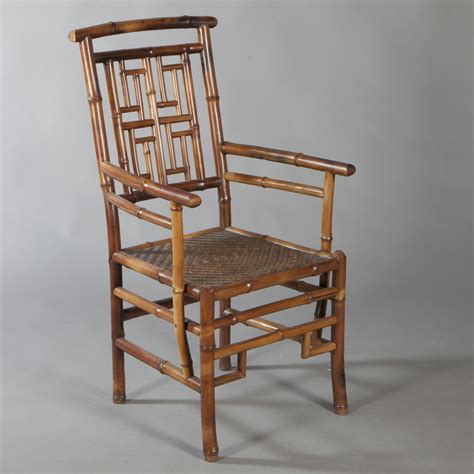 bamboo armchair straw quot bamboo quot armchair work from far east 20th century
