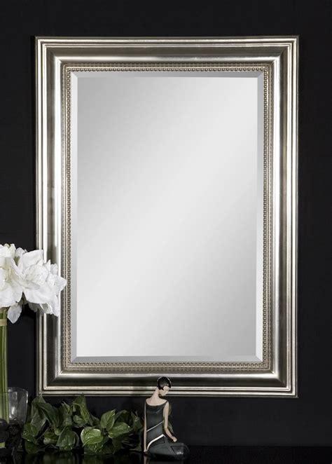 beaded mirror silver uttermost stuart silver beaded mirror uttermost 12005 b at