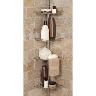 zenith e2132hb tub and shower tension pole caddy oil zenith products tub and shower tension pole caddy 4 shelf