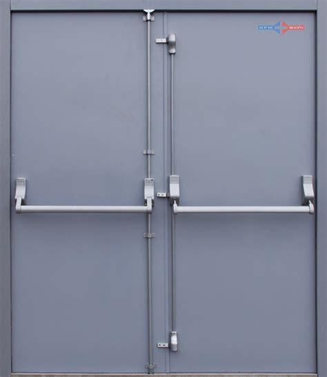 Emergency Exit Panic Button steel panic doors exit door with panic bar