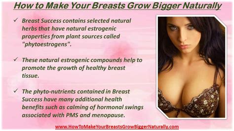 how to increase breast size fast at home without surgery