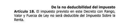 gaceta oficial impuesto sobre la renta 2016 dataenlinea igtf vigente desde el 01 feb 2016 no