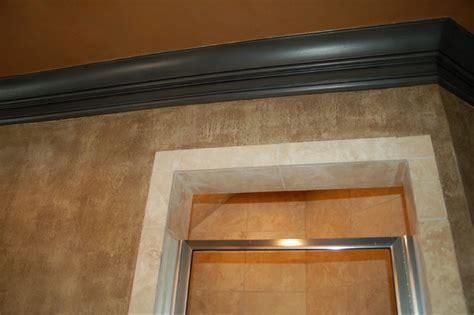 Trim Bathroom by Master Bathroom Plaster Walls Glazed Trim Plastered Ceiling