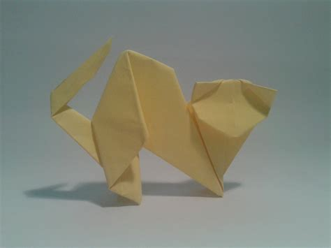Origami Cat How To - neko cat origami www pixshark images galleries