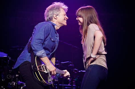 what is the song bon jovi does in direct tv commercial jon bon jovi dances with daughter stephanie on stage