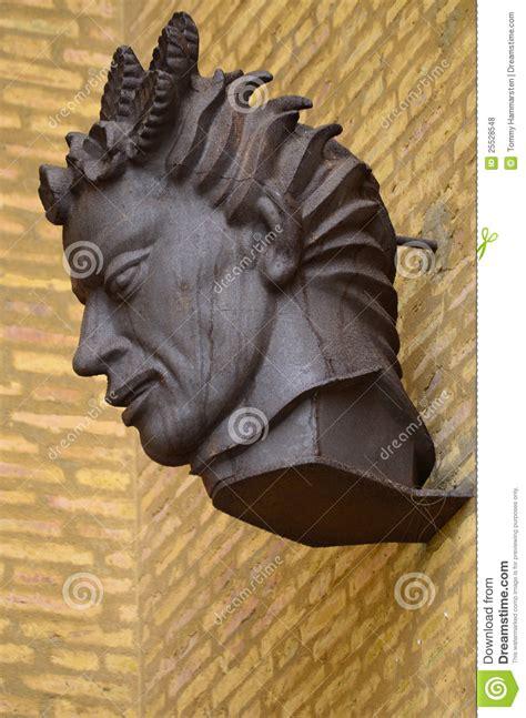 evil statue stock photo image  scary gargoyle spooky