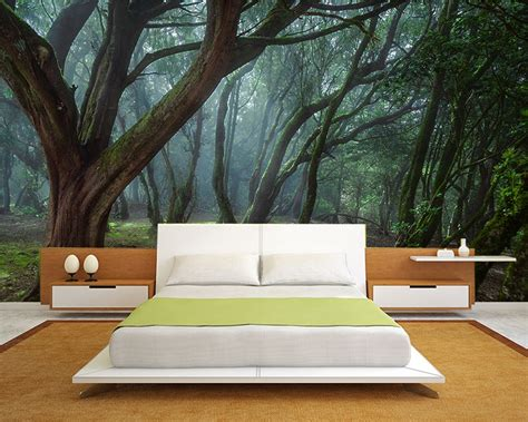 Outdoor Wall Murals Ideas poster mural nature une bouff 233 e d air frais en 33 super id 233 es