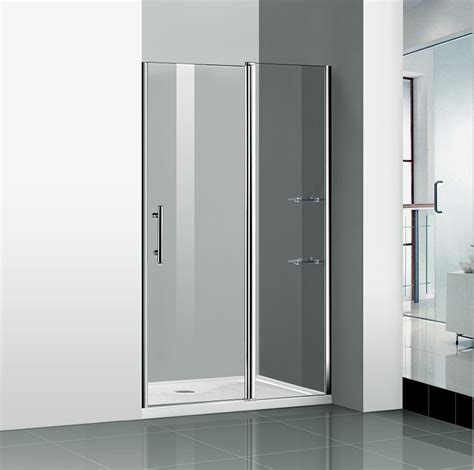 Shower Screens Doors 4 Folds And 5 Folds Bathroom Chrome Folding Bath Shower Screen Glass Door Panel Ebay