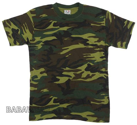 Army T Shirt Impor camouflage green tone t shirt army color camo pro usa baba ebay