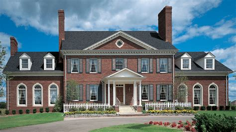 federal house plans colonial federal house plans home design and style