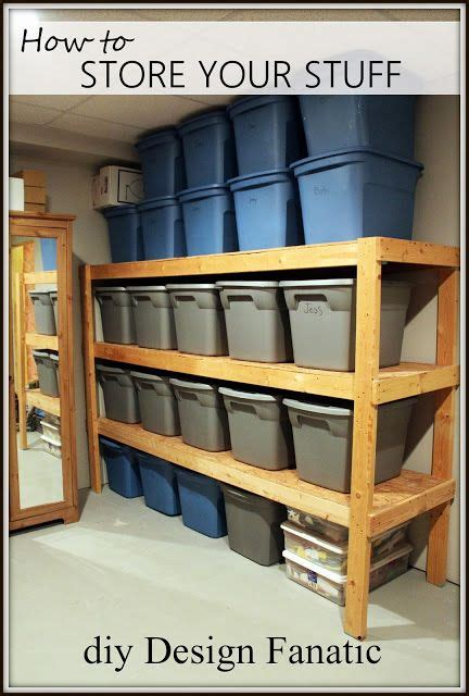 diy storage   store  stuff diy storage shelves