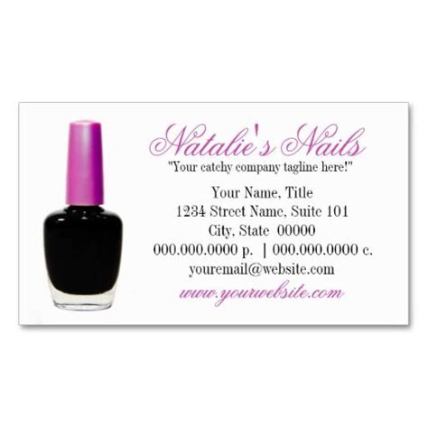 Manicurist Business Card Template by 276 Best Images About Manicurist Business Cards On