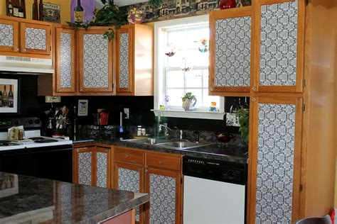 diy kitchen cabinet makeover dimestore diy fabulously frugal kitchen cabinet