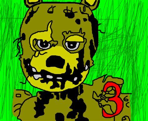 imagenes para colorear fnaf fnaf 3 desenho de fnaf2 gartic