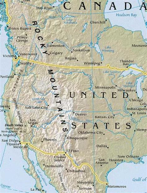 rocky mountain map america map geography of america map of america worldatlas