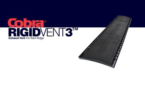 gaf pro 3 attic fan gaf cobra rigid vent 3 roof ridge vent attic exhaust vent