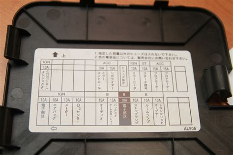nissan stagea fuse box translation wiring diagram 2018