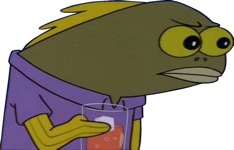 Spongebob Fish Meme - quot spongebob face quot stickers by zdownes11 redbubble