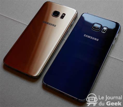 Samsung S6 S7 prise en samsung galaxy s7 et galaxy s7 edge