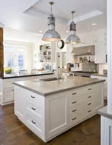 Concrete Kitchen Cabinets white kitchen cabinets concrete countertops quicua com