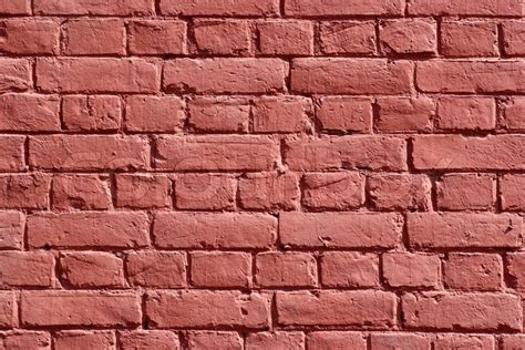 green painted brick wall texture picture free photograph texture of wall made of bricks painted red stock photo