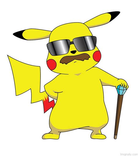 with mustache pikachu pictures and images page 3