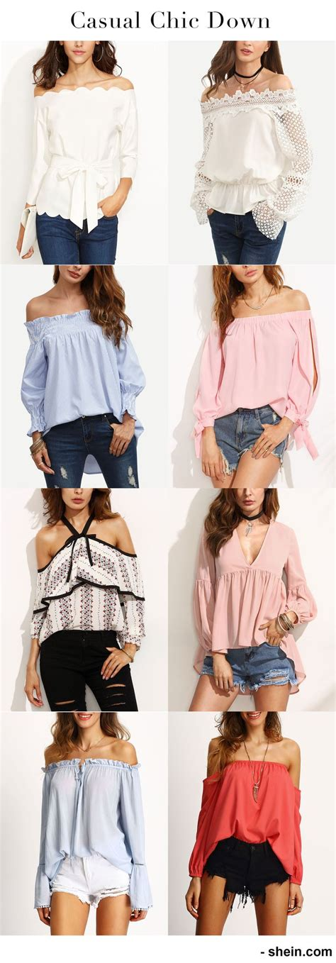 Shoulder Blouse Salem casual chic with pretty blouse shoulder blouse