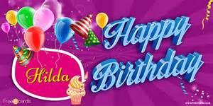 happy birthday hilda free ecards