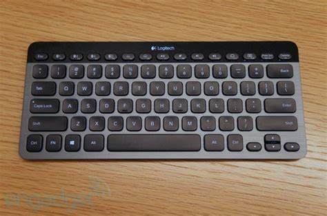 Keyboard Logitech K810 logitech s k810 keyboard pairs with up to three devices