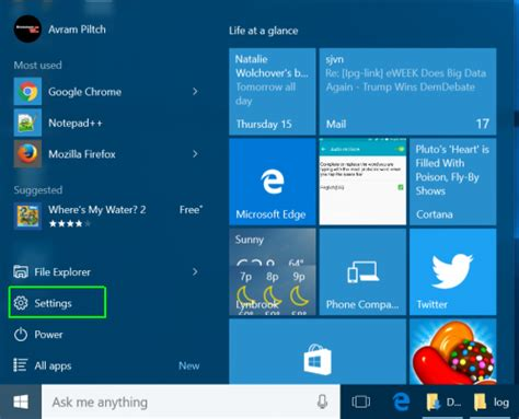 how to access the bios on a windows 10 pc