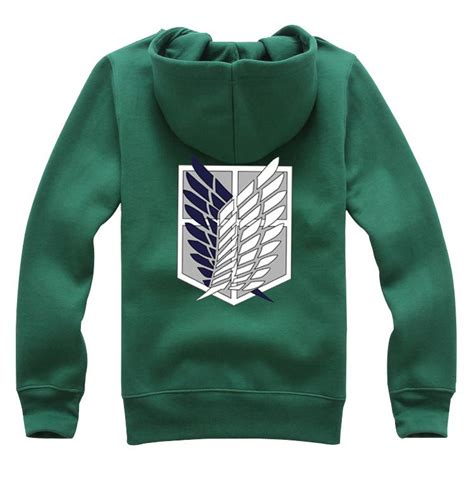 Sweater Jaket Attack On Titan Snk Sporty All Edition uk attack on titan shingeki no kyojin costume hoodie jumper jacket ebay