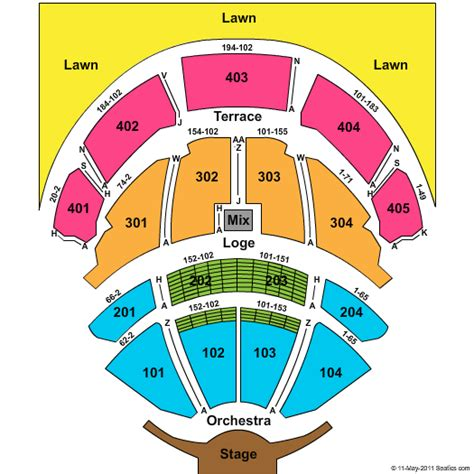 garden state arts center schedule pnc bank arts center holmdel nj seating chart view