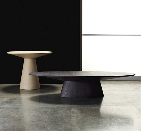 Contempory Coffee Tables Encore Oval Shaped Coffee Table Contemporary