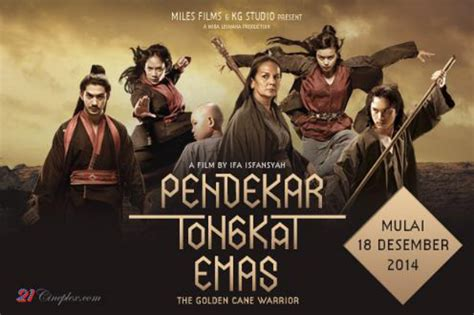 download film indonesia tongkat emas movie the golden cane warrior pendekar tongkat emas