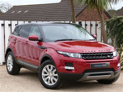 red land rover old used firenze red land rover range rover evoque for sale