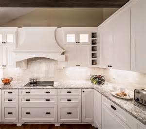 Kitchen Cabinet Cost Per Foot cambria bellingham white cabinets backsplash ideas