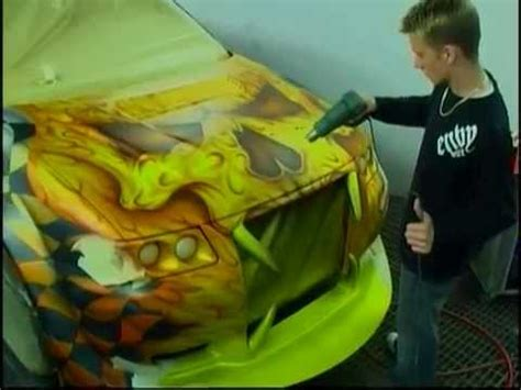 Painting G With A Twist by Custom Car Painting