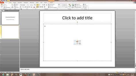 tutorial to powerpoint microsoft powerpoint 2010 the basics tutorial 1 an