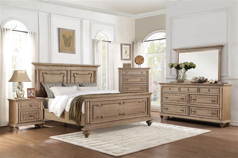 4 piece bedroom set 4 piece homelegance marceline panel bedroom set