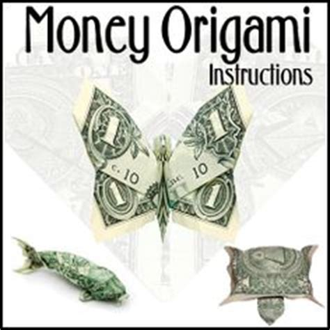 How To Make Money Butterfly Origami - origami money on money origami dollar bill
