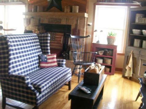 primitive family rooms i want blue and and primitive living room on