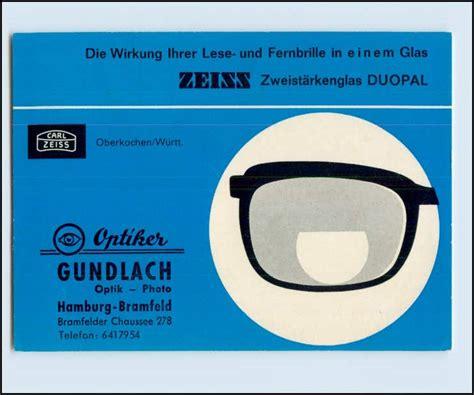 optiker blankenese p3l28 zeiss optik kalender 1965 optiker gundlach hamburg
