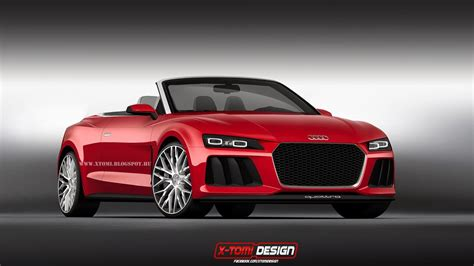 audi sports audi sport quattro laserlight concept cabriolet imagined