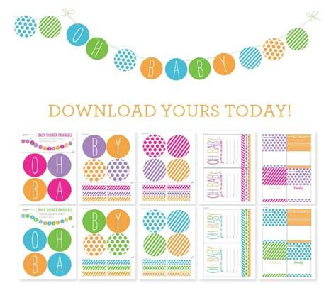 free printables for baby shower girl free baby shower printables boy and girl themes