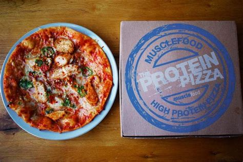 protein pizza musclefood s protein pizza review value taste photos