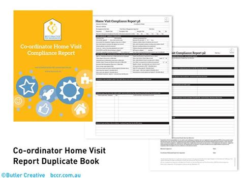 design options for home visiting evaluation fdc co ordinator home visit duplicate book
