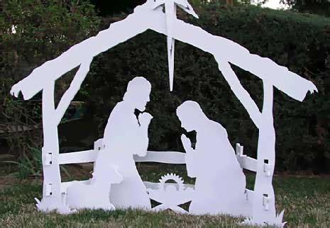 wood plans  nativity scene  woodworking