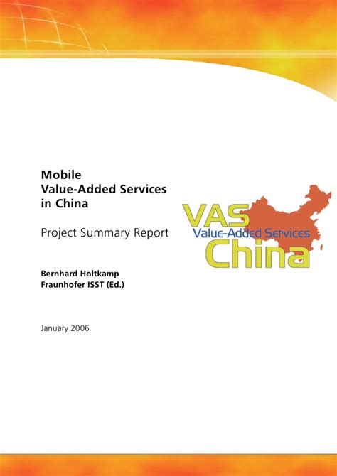 mobile vas services china vas mobile value added services in china